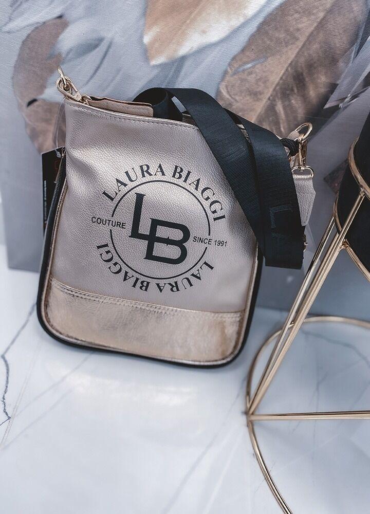 GOLDEN BAG ZIPPER LAURA BIAGGI
