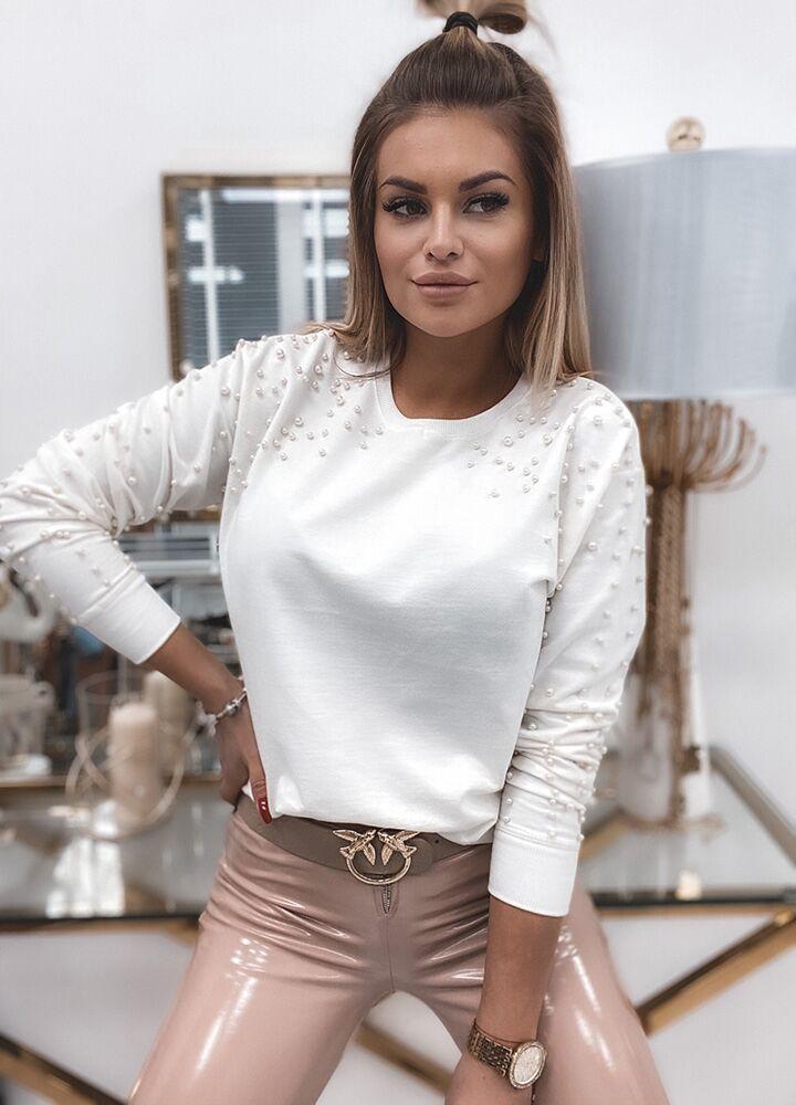 ТОЛСТОВКА PERLE WHITE