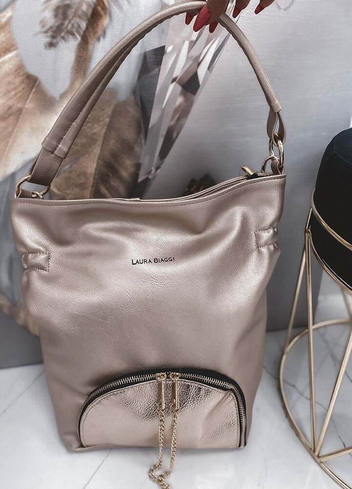 TOREBKA GOLD BAG LAURA BIAGGI