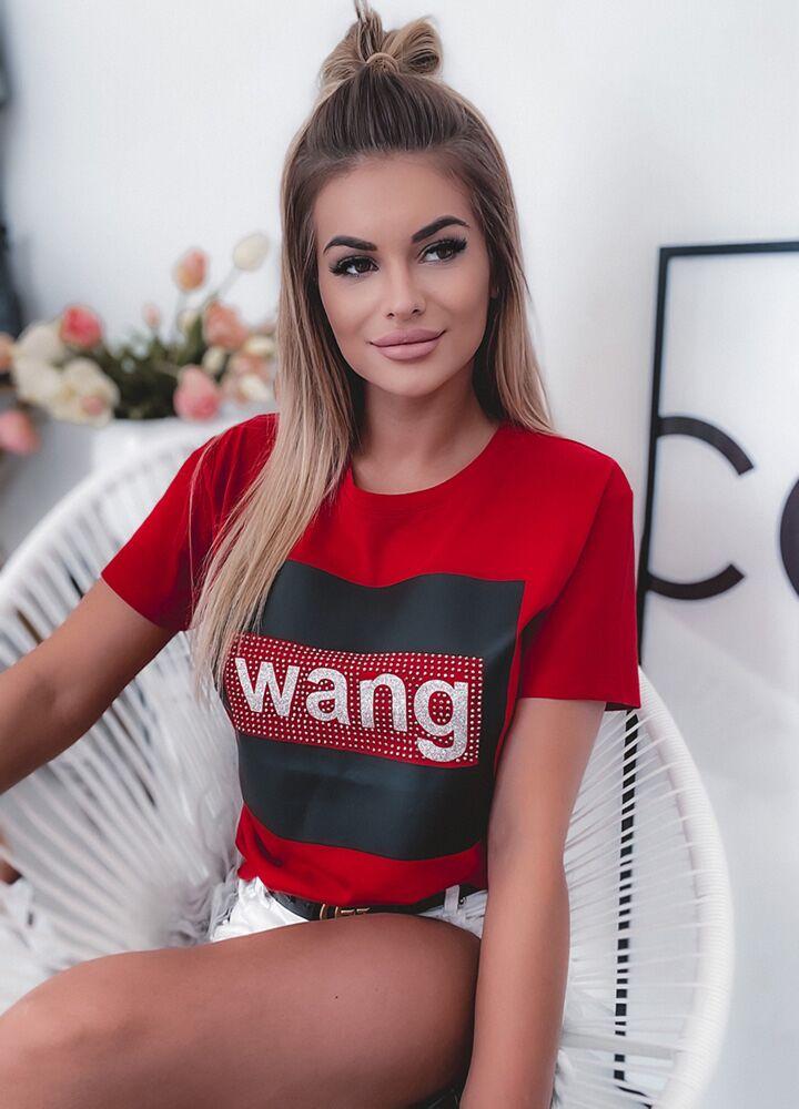 T-SHIRT WANG RED