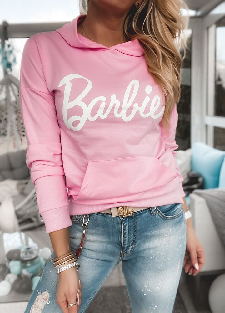 Bluza barbie pink