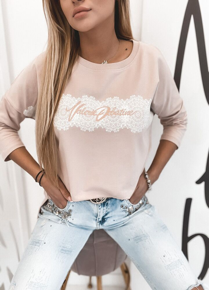 Bluza  valerie puddy pink