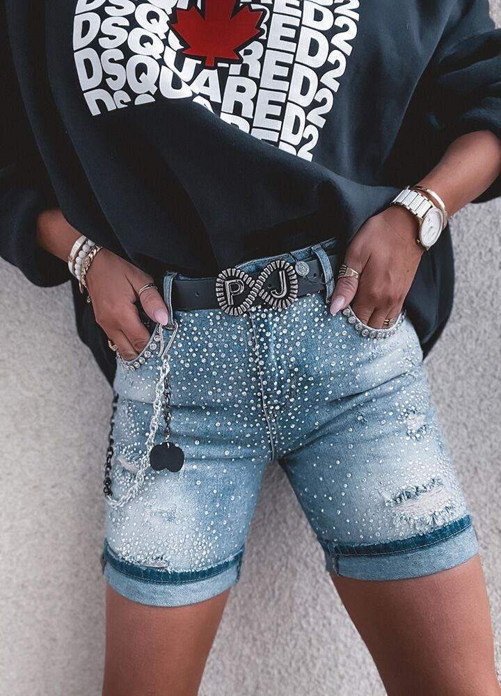 SPODENKI PUCCIHINO JEANS SEQUINS