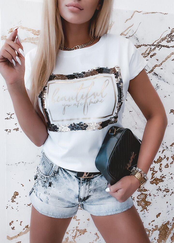 KOSZULKA BEAUTIFUL WHITE