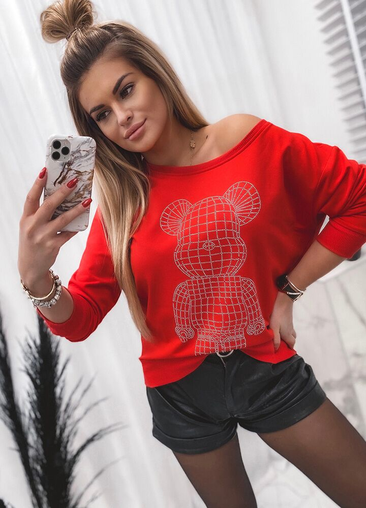 BLUZA TEDDY SEQUINS