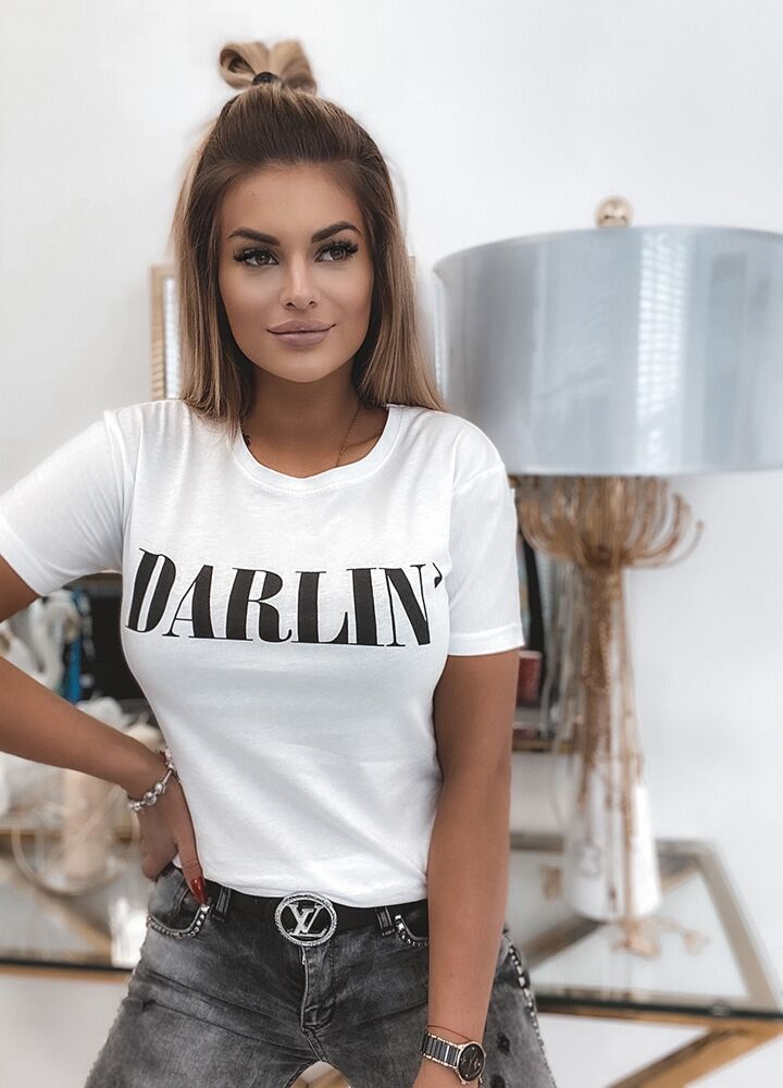 T-SHIRT DARLIN WHITE