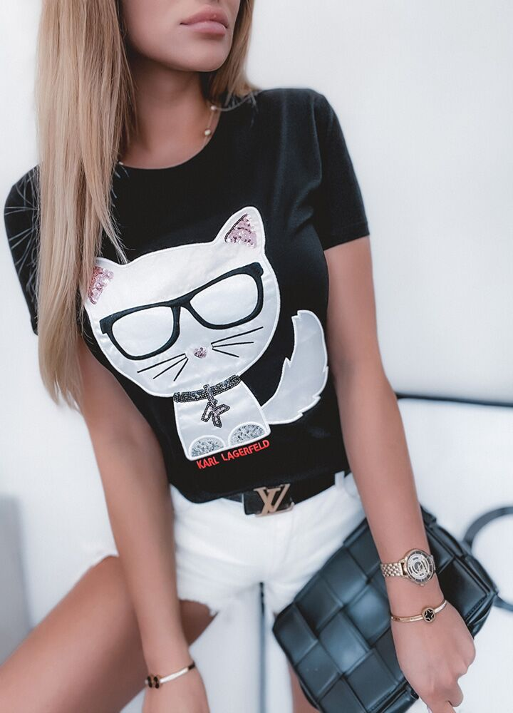 BLUZKA PRETTY CAT