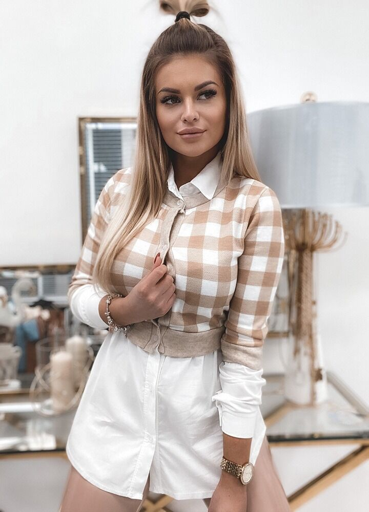SHIRT WITH A SWEATER