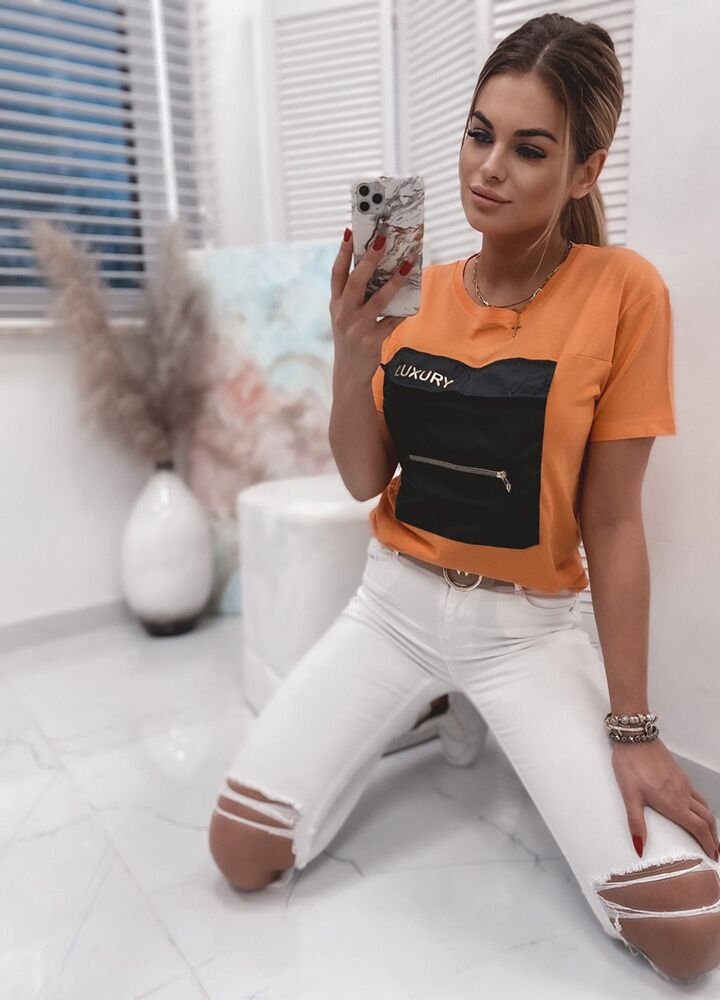 T-SHIRT LUXURY ORANGE