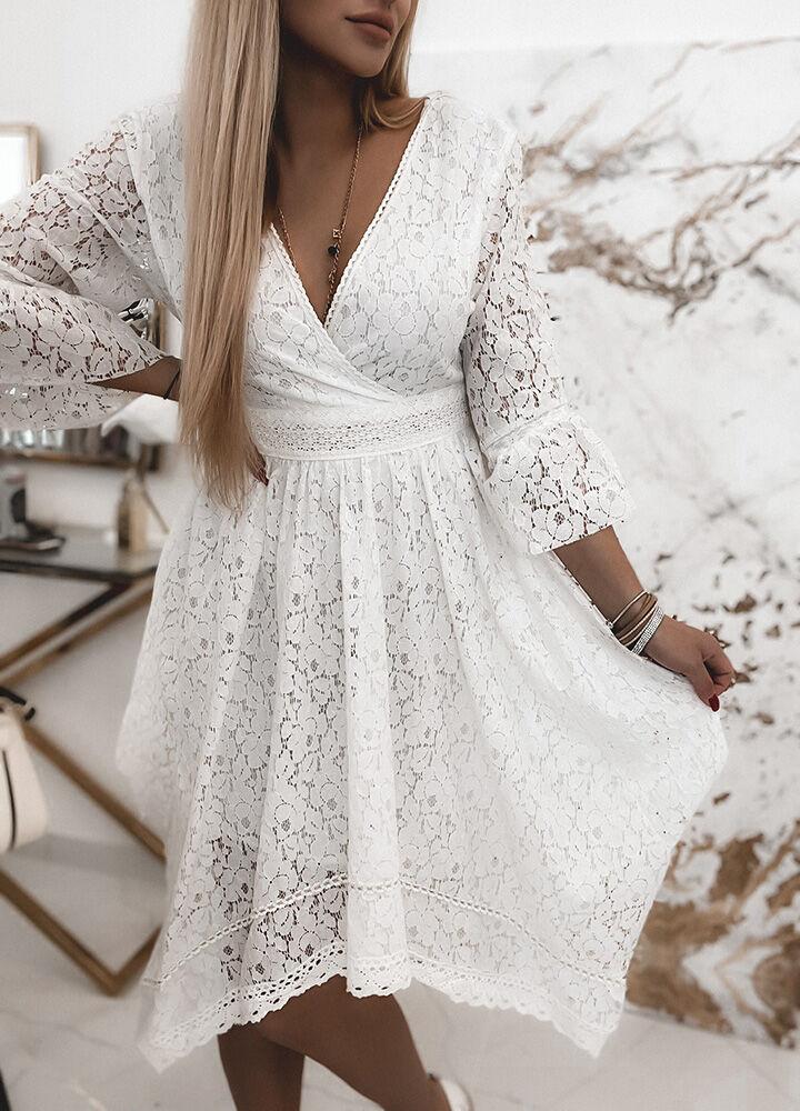 KORONKOWA SUKIENKA WHITE