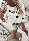 Dreams look stylowa bluza star white
